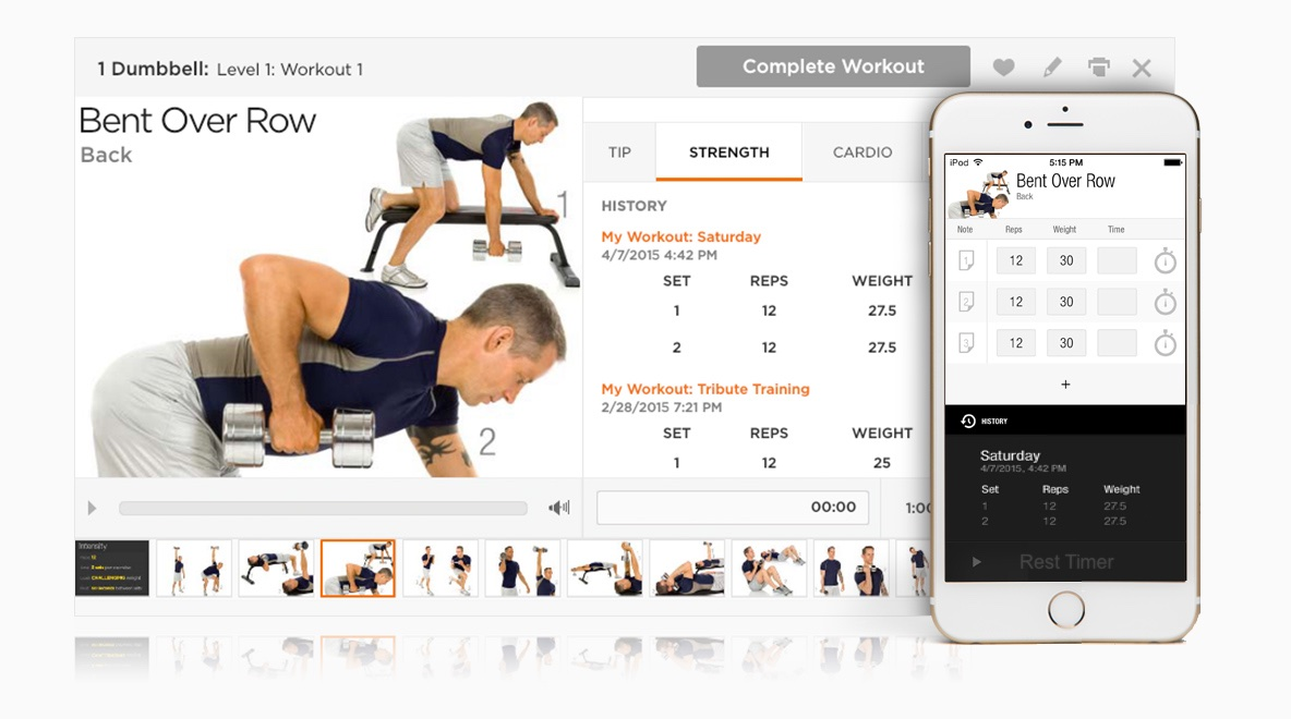 PumpOne com :: FitnessBuilder